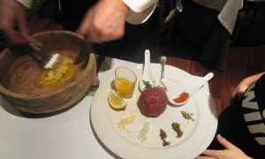 Angel Conde y su Steak Tartar