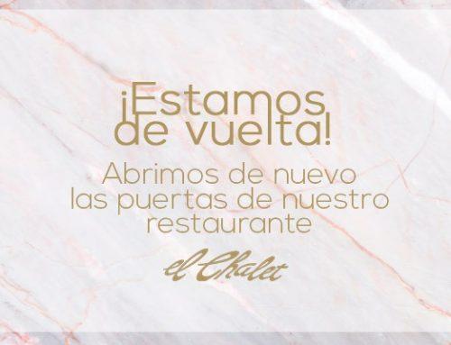 Restaurante El Chalet vuelve a abrir sus puertas