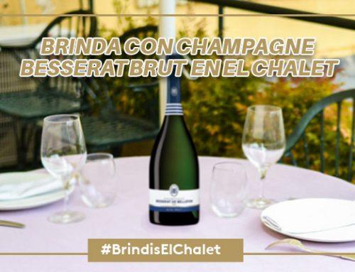 Brinda con el mejor champagne en El Chalet