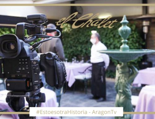El programa ¨Esto es otra historia¨ de Aragón TV visita Restaurante El Chalet